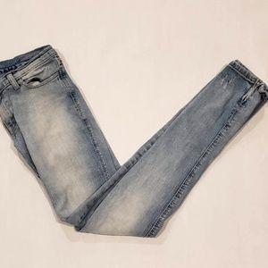Authentic 00s Ksubi Super Skinny Zip Leg Jeans